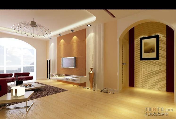 优雅50平混搭二居客厅装修效果图客厅潮流混搭客厅设计图片赏析