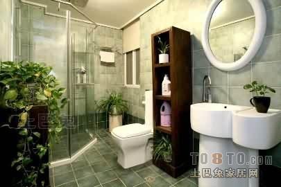 精选面积134平复式卫生间混搭装修实景图卫生间潮流混搭卫生间设计图片赏析