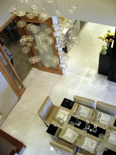 精美137平米混搭复式餐厅装修图厨房潮流混搭餐厅设计图片赏析