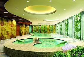 宾馆水疗区装修设计图片