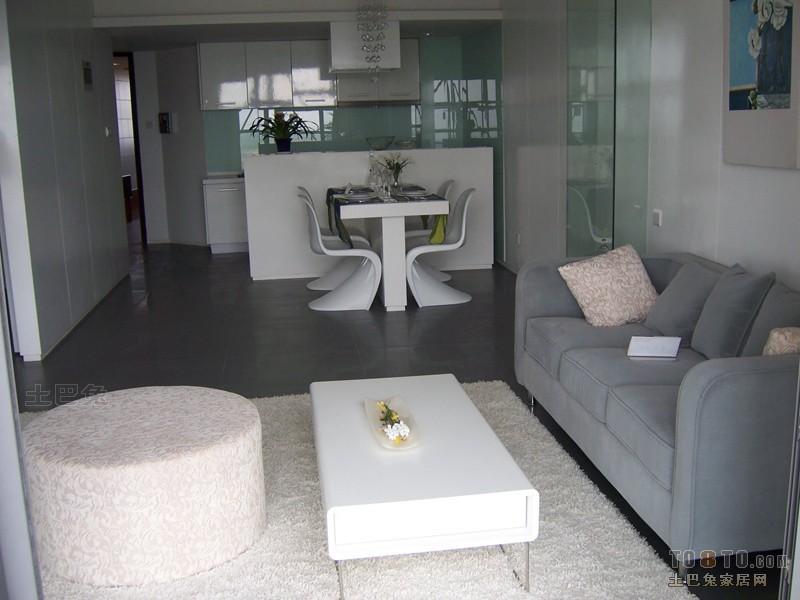 平方二居客厅混搭装修设计效果图片欣赏客厅潮流混搭客厅设计图片赏析