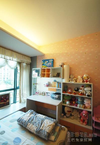 质朴88平混搭三居儿童房效果图片大全卧室潮流混搭卧室设计图片赏析