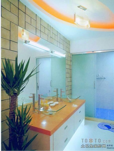 精选混搭复式卫生间装修欣赏图片卫生间潮流混搭卫生间设计图片赏析