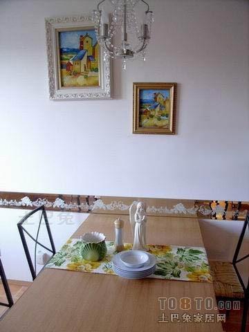 平混搭四居餐厅装修美图厨房潮流混搭餐厅设计图片赏析