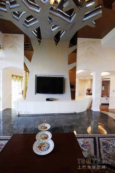 精美129平米混搭复式客厅装修设计效果图客厅潮流混搭客厅设计图片赏析
