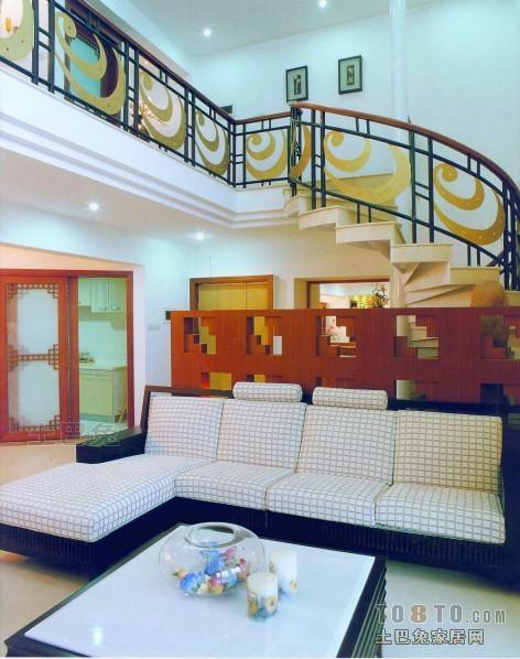 热门面积133平复式客厅混搭欣赏图客厅潮流混搭客厅设计图片赏析
