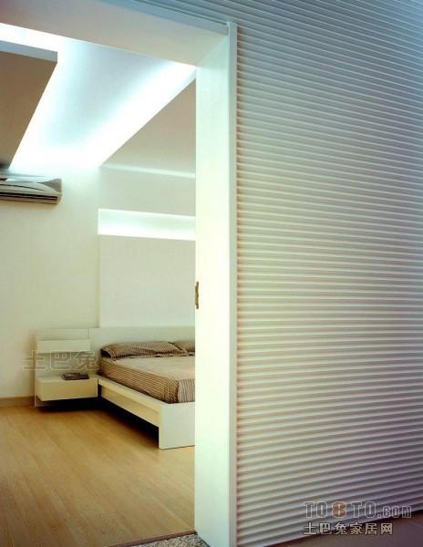 质朴61平混搭二居卧室实景图片卧室潮流混搭卧室设计图片赏析