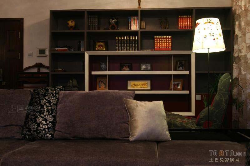 精美大小107平混搭三居客厅装修效果图片客厅潮流混搭客厅设计图片赏析