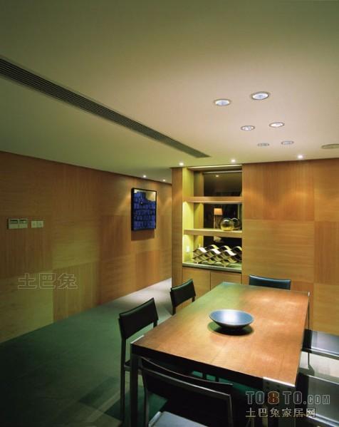 热门面积119平复式餐厅混搭设计效果图厨房潮流混搭餐厅设计图片赏析