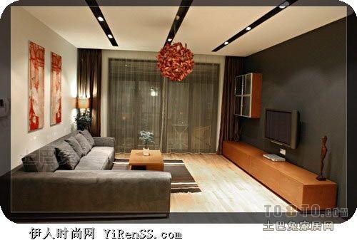 面积127平混搭四居客厅装修实景图客厅潮流混搭客厅设计图片赏析