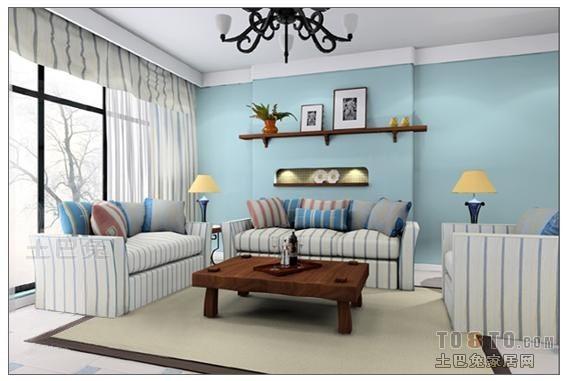热门大小85平混搭二居客厅欣赏图客厅潮流混搭客厅设计图片赏析