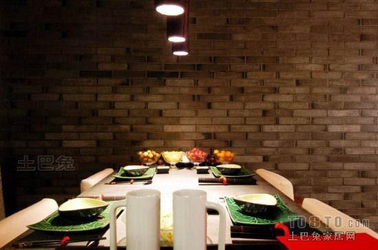 精选大小83平混搭二居餐厅装修欣赏图厨房潮流混搭餐厅设计图片赏析