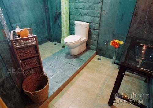 明亮59平混搭复式卫生间装修美图卫生间潮流混搭卫生间设计图片赏析