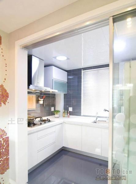 2018精选面积98平混搭三居厨房装修图片餐厅潮流混搭厨房设计图片赏析
