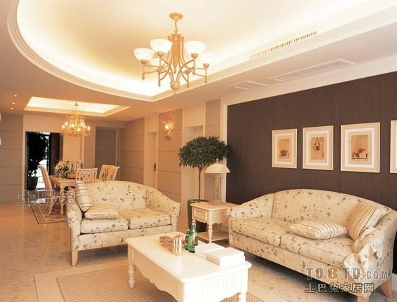 典雅121平混搭三居客厅装饰图客厅潮流混搭客厅设计图片赏析