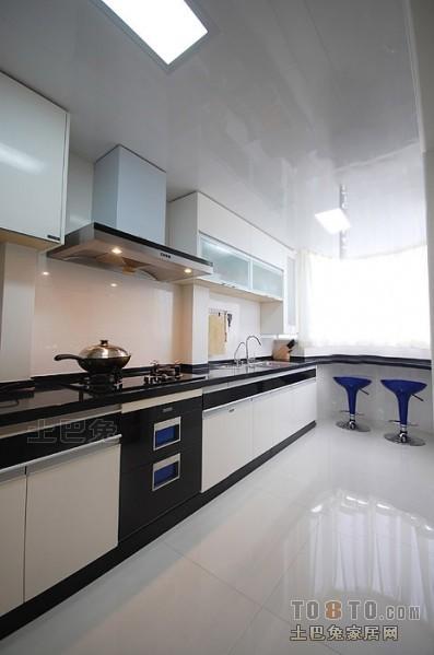 精美143平米混搭复式厨房设计效果图餐厅潮流混搭厨房设计图片赏析