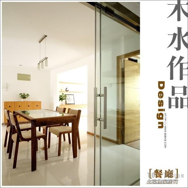简洁63平混搭复式餐厅装饰图厨房潮流混搭餐厅设计图片赏析
