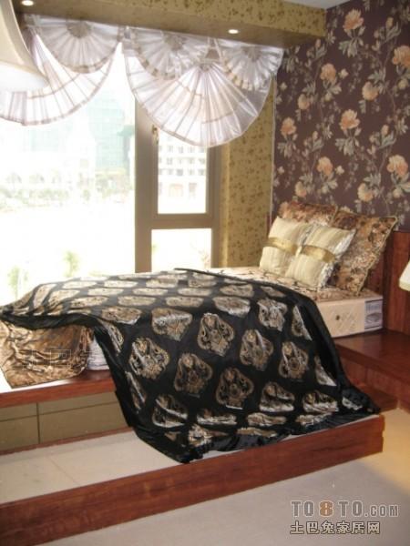 2018面积99平混搭三居卧室装修欣赏图卧室潮流混搭卧室设计图片赏析