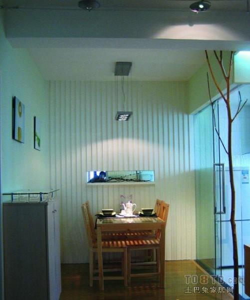 温馨38平混搭小户型餐厅装修图厨房潮流混搭餐厅设计图片赏析