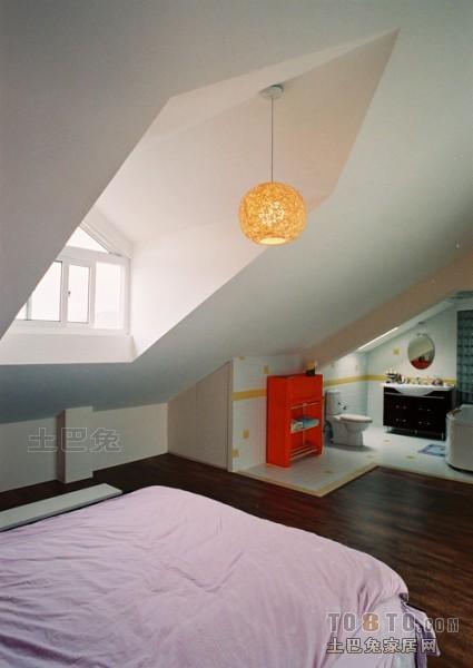 精美47平混搭复式卧室装修图卧室潮流混搭卧室设计图片赏析