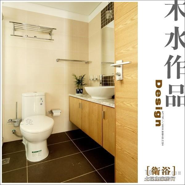 浪漫77平混搭复式卫生间效果图片大全卫生间潮流混搭卫生间设计图片赏析