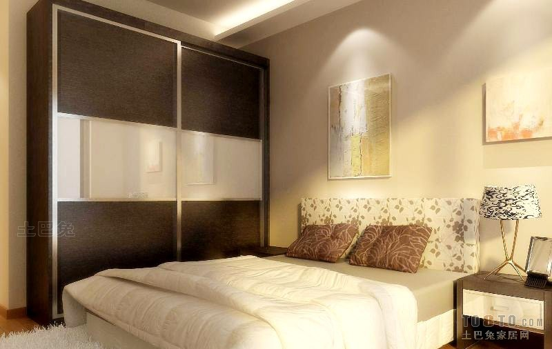 精选100平方三居卧室混搭实景图片欣赏卧室潮流混搭卧室设计图片赏析