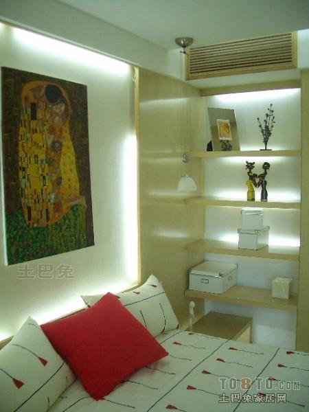 典雅88平混搭二居卧室美图卧室潮流混搭卧室设计图片赏析