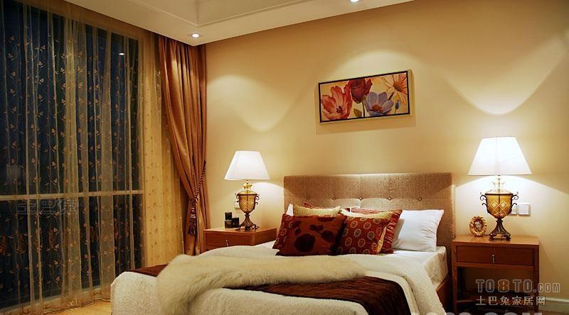 华丽81平混搭复式卧室装饰美图卧室潮流混搭卧室设计图片赏析