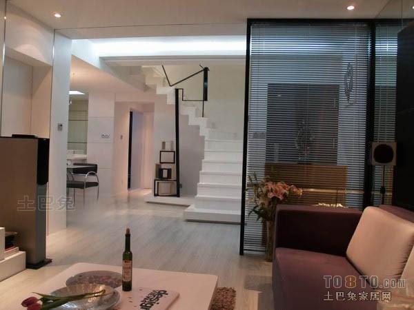 精选面积120平复式客厅混搭欣赏图片客厅潮流混搭客厅设计图片赏析