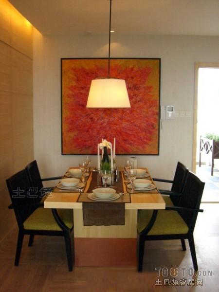 华丽78平混搭三居餐厅装饰美图厨房潮流混搭餐厅设计图片赏析