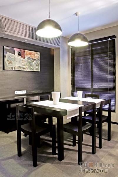2018精选面积120平复式餐厅混搭装修效果图片厨房潮流混搭餐厅设计图片赏析