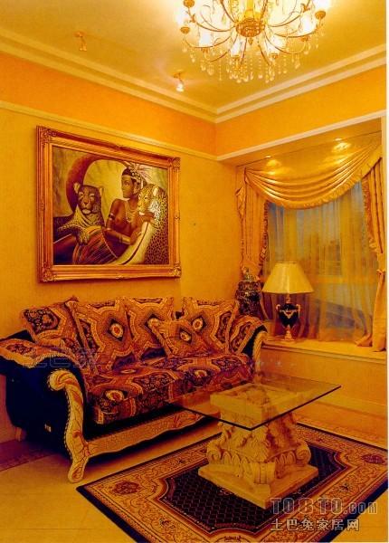 精选73平米二居客厅混搭实景图片欣赏客厅潮流混搭客厅设计图片赏析