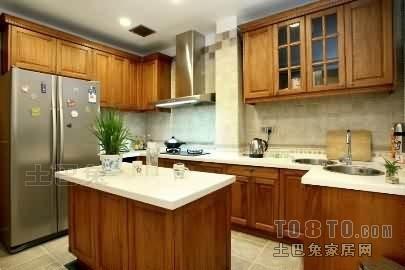 精选面积128平复式厨房混搭装修设计效果图餐厅潮流混搭厨房设计图片赏析