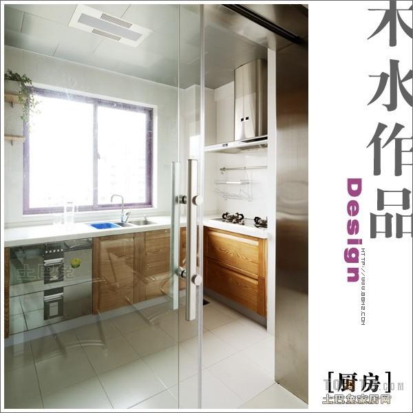 典雅124平混搭三居厨房美图餐厅潮流混搭厨房设计图片赏析