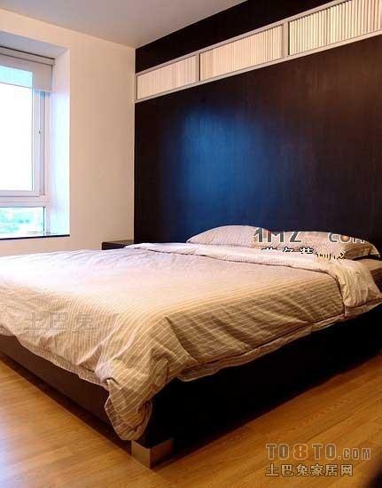 轻奢50平混搭二居卧室效果图片大全卧室潮流混搭卧室设计图片赏析
