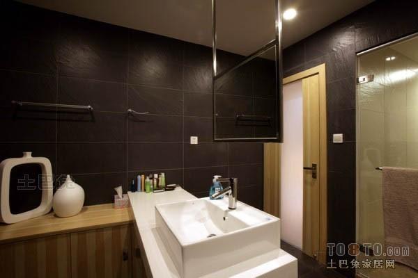 平米混搭复式卫生间装修设计效果图片卫生间潮流混搭卫生间设计图片赏析