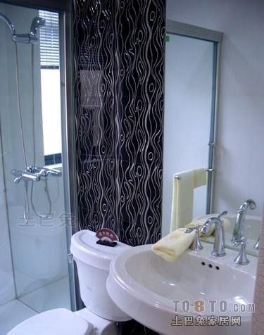 精选100平米三居卫生间混搭装修图片大全卫生间潮流混搭卫生间设计图片赏析
