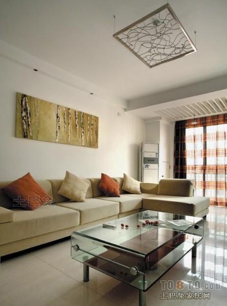 77平方二居客厅混搭装修图片大全客厅潮流混搭客厅设计图片赏析