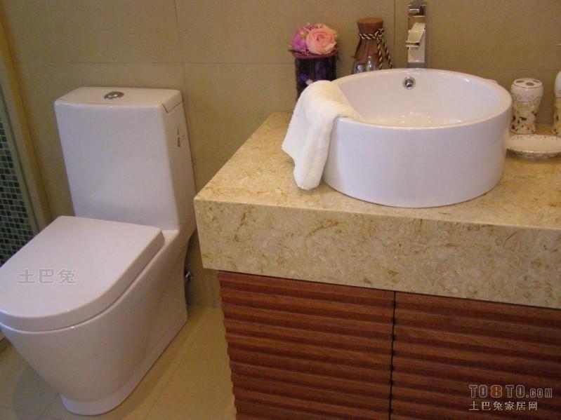 热门面积93平混搭三居卫生间欣赏图卫生间潮流混搭卫生间设计图片赏析