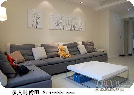 93平方三居客厅混搭装修图片欣赏客厅潮流混搭客厅设计图片赏析