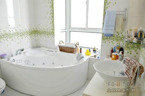 轻奢75平混搭三居卫生间装修效果图卫生间潮流混搭卫生间设计图片赏析