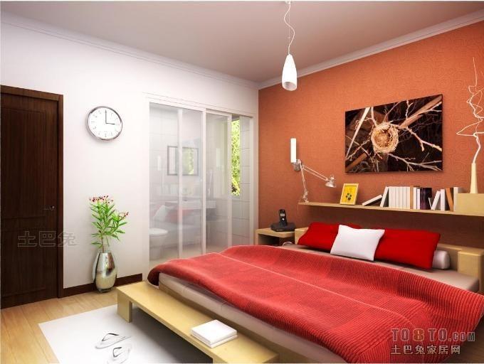 精选71平米二居卧室混搭欣赏图卧室潮流混搭卧室设计图片赏析