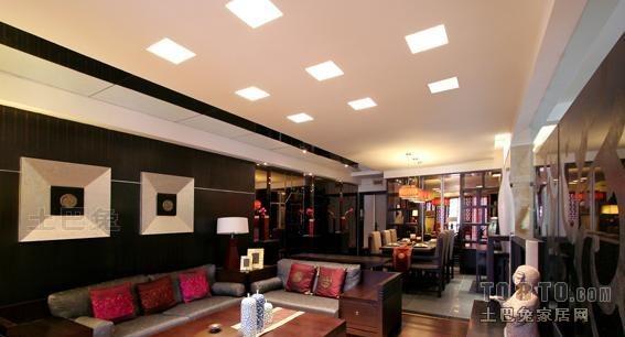 混搭风格客厅客厅潮流混搭客厅设计图片赏析