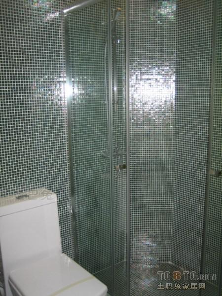 浪漫21平混搭小户型卫生间装饰图片卫生间潮流混搭卫生间设计图片赏析