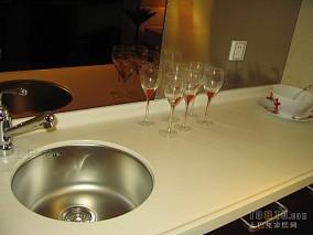 家居厨房吧台装修效果图大全图片
