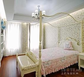 60平米两室一厅简单主卧设计