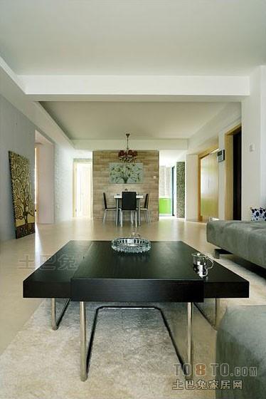 精美混搭3室客厅装修效果图106平客厅潮流混搭客厅设计图片赏析