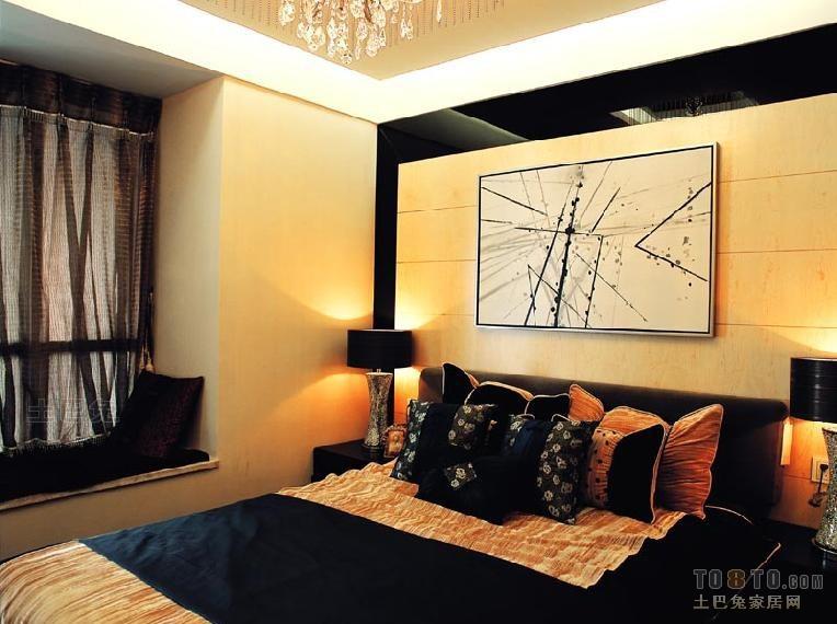精美面积116平混搭四居卧室装修设计效果图卧室潮流混搭卧室设计图片赏析