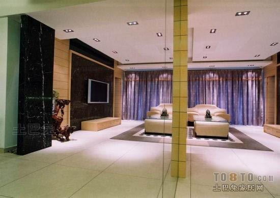 轻奢125平混搭三居客厅装修案例客厅潮流混搭客厅设计图片赏析