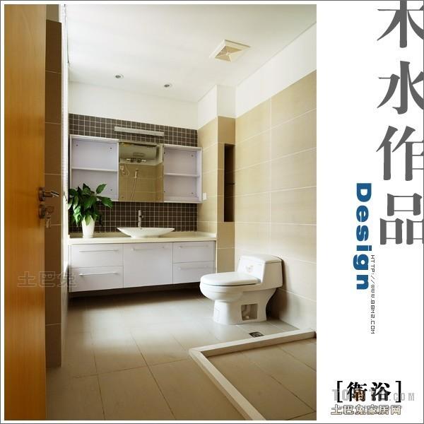 热门面积103平混搭三居卫生间装修图片卫生间潮流混搭卫生间设计图片赏析
